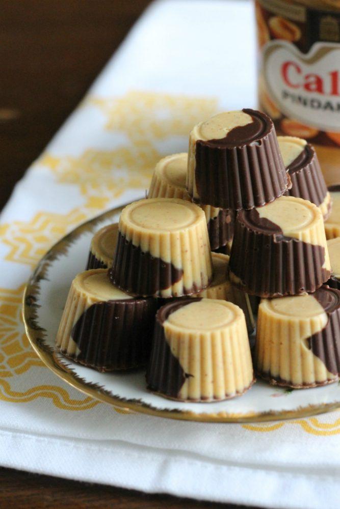 pindakaas chocoladebrokken