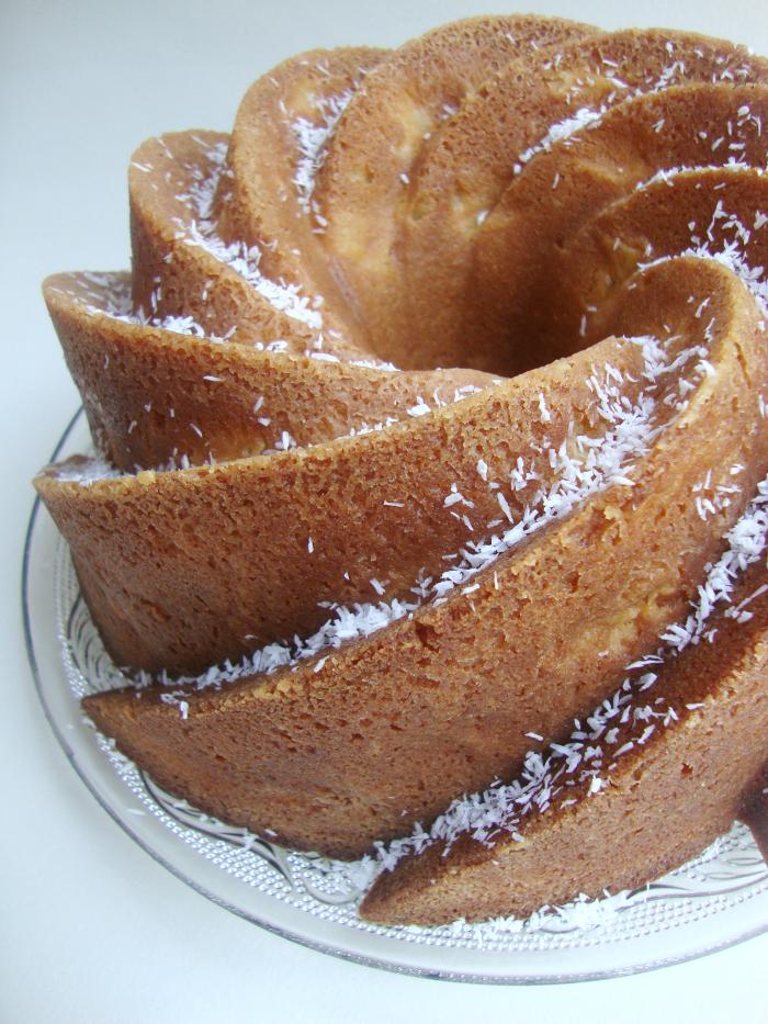 Ananas-kokos bundt cake 1