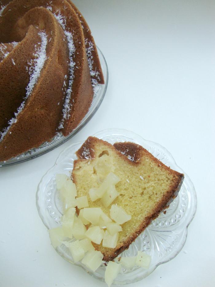 Ananas-kokos bundt cake 2