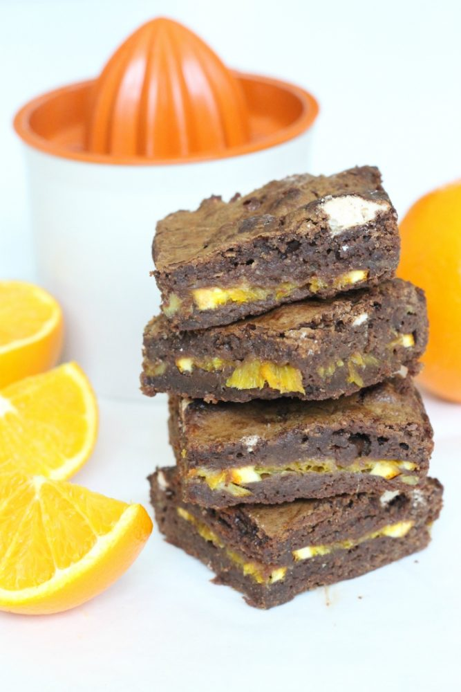Sinaasappel brownies
