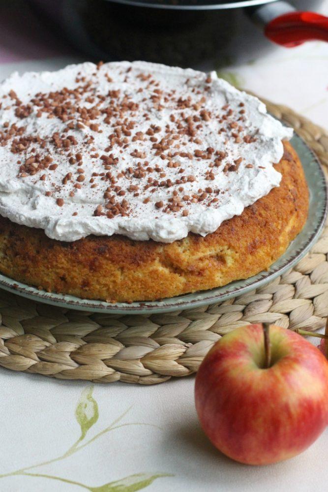 Cake uit koekenpan