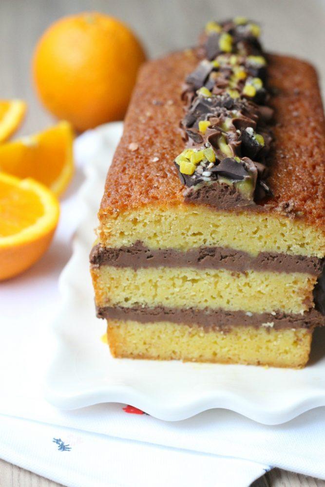 sinaasappel chocolade cake