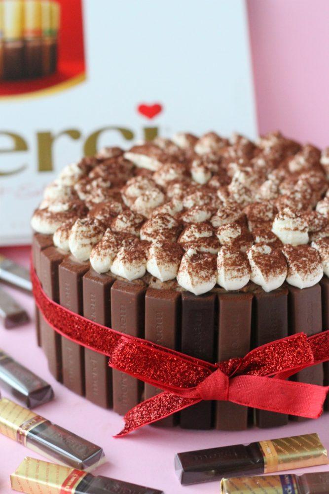 merci chocoladetaart