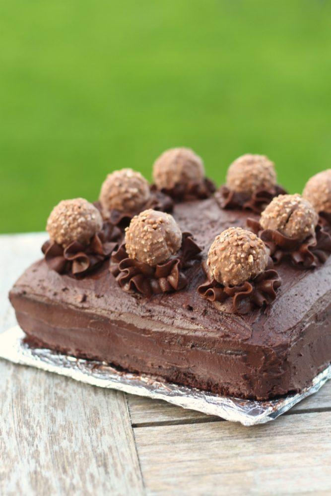 Ferrero Rocher chocoladetaart