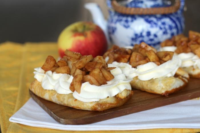 appel-roomgebakjes met karamel