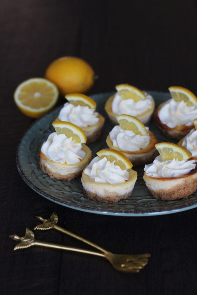 citroen cheesecakejes met kwark
