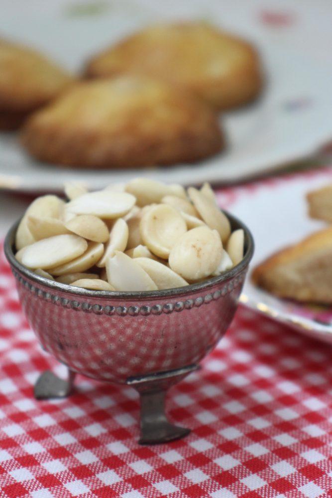 gevulde koeken met amandelspijs